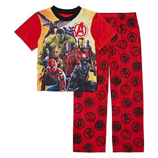 Avengers Boys 2-pc. Avengers Pant Pajama Set Big Kid