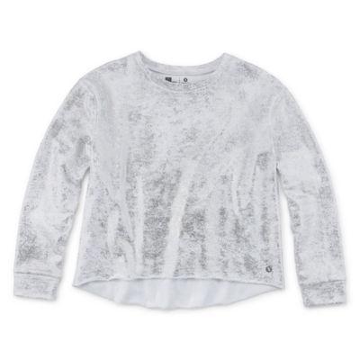 Xersion Foil Print Sweatshirt - Girls' 4-16 & Plus