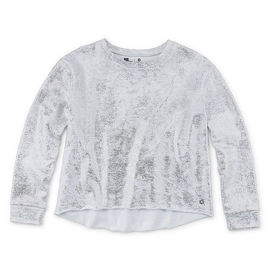 Xersion Foil Print Sweatshirt Girls 4 16 Plus