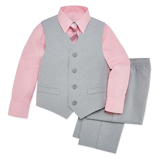 601953447e6a Van Heusen 4-pc. Suit Set Preschool   Big Kid Boys - JCPenney