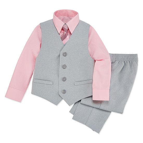 Van Heusen 4-pc. Suit Set Toddler Boys