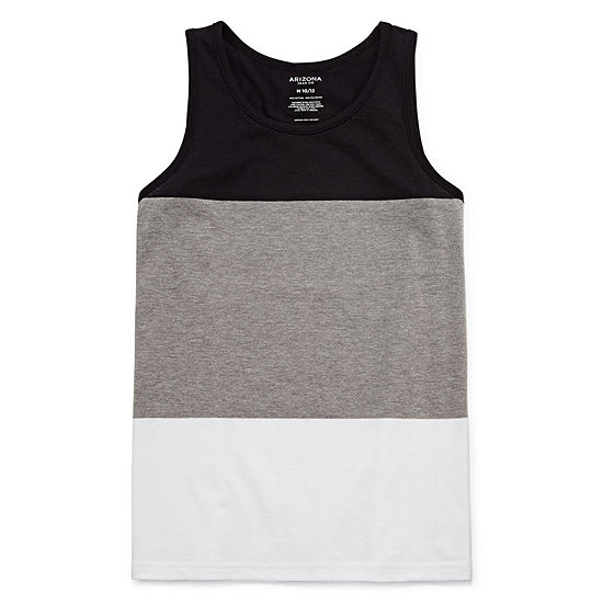 Arizona Little Kid / Big Kid Boys Round Neck Tank Top