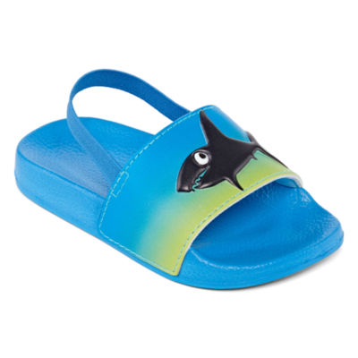 Okie Dokie Boys Slide Sandals