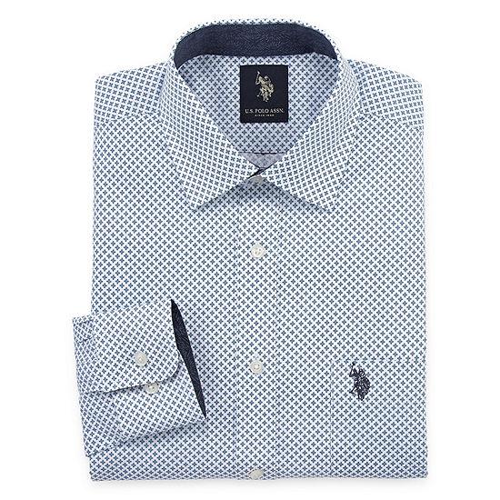 U.S. Polo Assn.Big and Tall Long Sleeve Dress Shirt