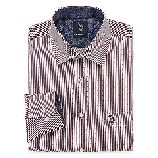 U.S. Polo Assn. Big and Tall Long Sleeve Dress Shirt