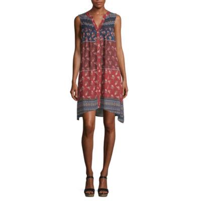 Artesia Sleeveless Shirt Dress