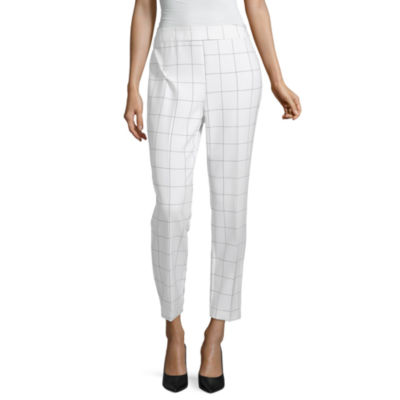 Liz Claiborne Secret Garden Womens Regular Fit Ankle Pant