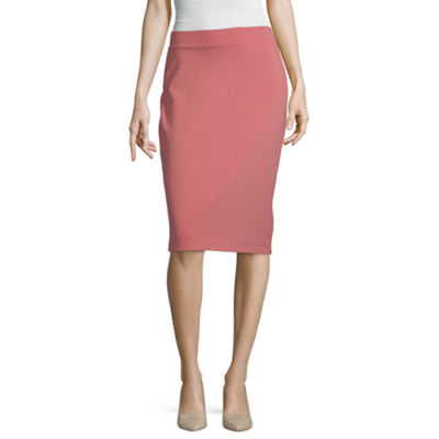Liz Claiborne Studio Womens Pencil Skirt