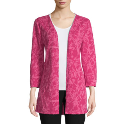 east 5th Womens 3/4 Sleeve Cardigan