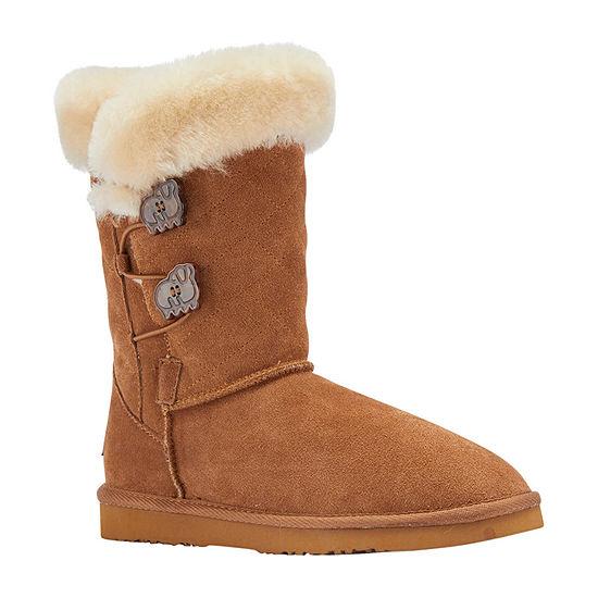 Lamo Womens Wren Winter Boots Flat Heel