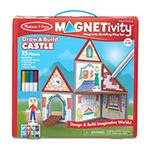 Melissa & Doug Magnetivity - Draw & Build Castle