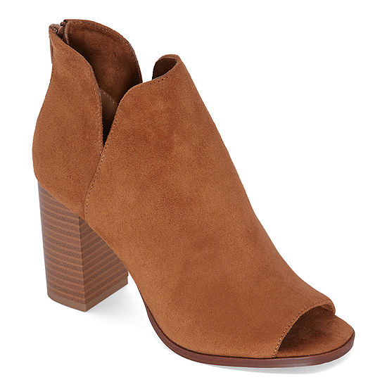 Zigi Soho Womens Tildey Booties Block Heel