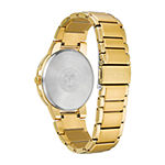 Citizen Axiom Mens Gold Tone Stainless Steel Bracelet Watch - Bj6512-56p