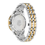Citizen Calendrier Mens Two Tone Stainless Steel Bracelet Watch - Bu0054-52l