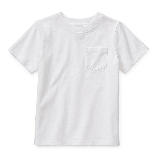 Okie Dokie Toddler Boys Short Sleeve T-Shirt