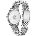 Drive from Citizen Womens Silver Tone Stainless Steel Bracelet Watch - Fe6080-71x