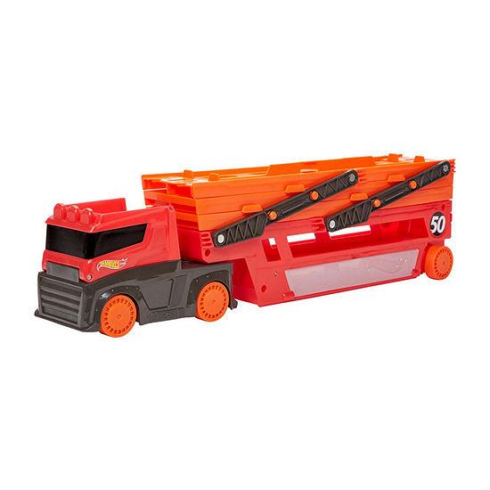 Hot Wheels Mega Hauler (Holds 50 Cars)