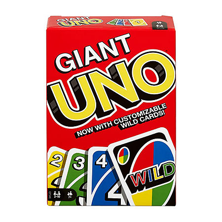 Mattel Giant Uno, One Size , Giant Uno