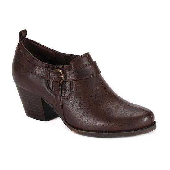 Wearever Shoes Womens Stacked Heel Robin Booties