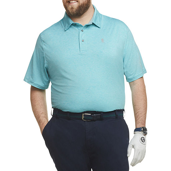 IZOD Big and Tall Mens Short Sleeve Polo Shirt