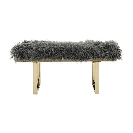 Mera Accents Bench, One Size , Gray