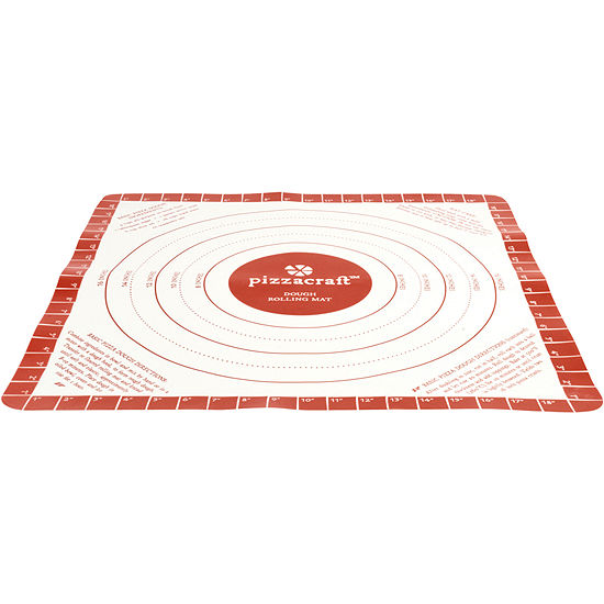 "Charcoal Companion® Pizzacraft® 20"" Silicone Dough Rolling Mat"