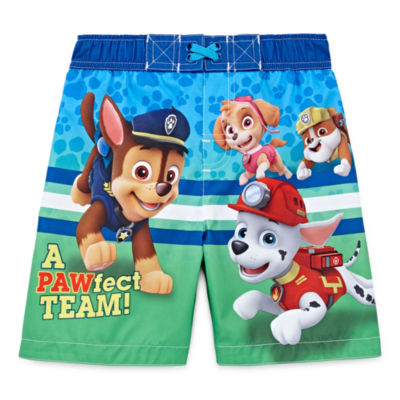 Boys Paw Patrol Swim Trunks-Toddler