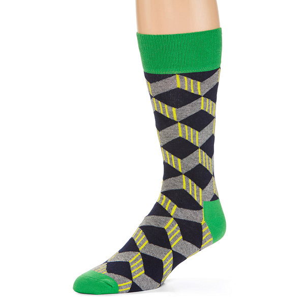 HS By Happy Socks Men's 1 Pair Crew Socks - Big