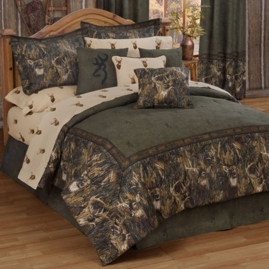 Browning 4-pc. Whitetails Heavyweight Comforter Set