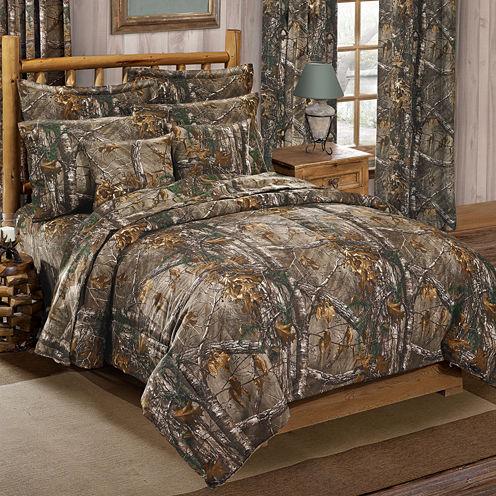 Realtree Midweight Comforter Set