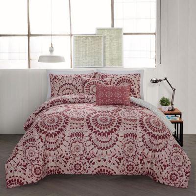 Avondale Manor Juno 5-pc. Reversible Comforter Set