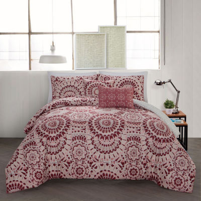 Avondale Manor Juno 5-pc. Reversible Comforter Set