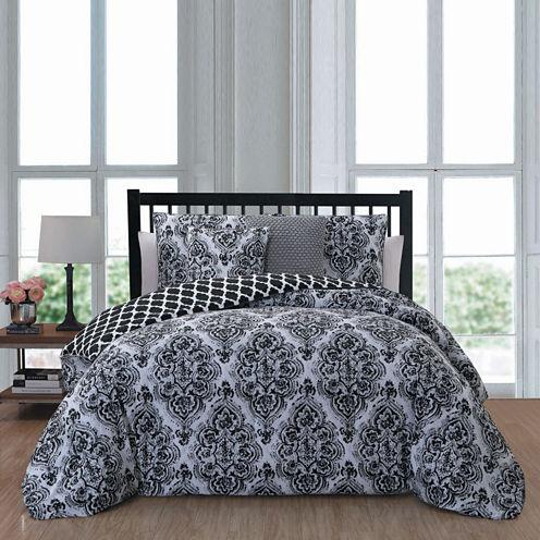 Avondale Manor Teagan 5-pc. Reversible Comforter Set