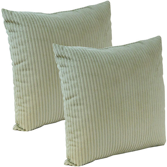 "Klear Vu 18"" Plush Avatar Decorative Pillows, Set of 2"