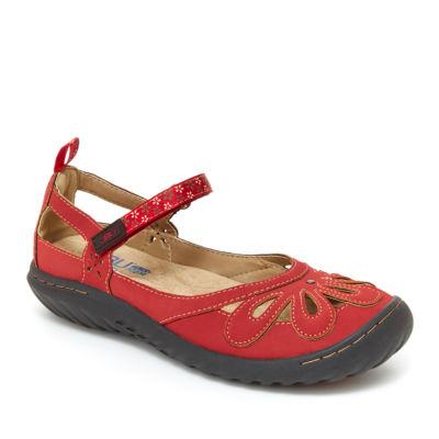 J Sport By Jambu Wildflower Encore Womens Mary Jane Shoes Hook and Loop Round Toe