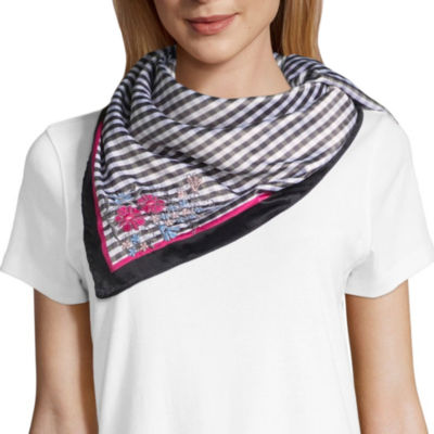 Mixit Square Gingham Scarf