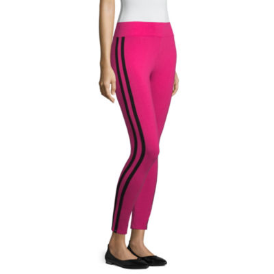 Mixit Pink Legging With Side Stripe