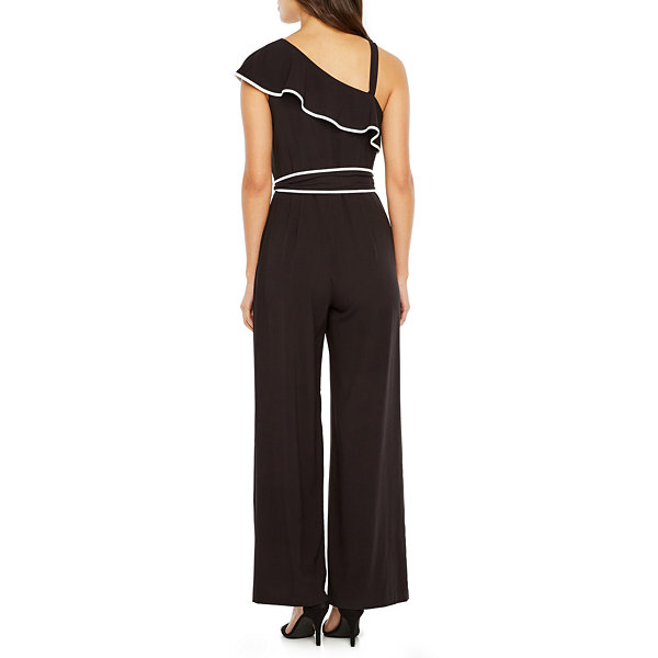 Danny & Nicole One Shoulder Jumpsuit