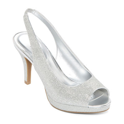 Worthington Womens Dayne Pumps Peep Toe