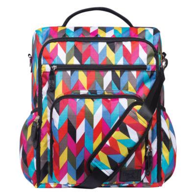 Trend Lab French Bull Ziggy Backpack  Diaper Bag