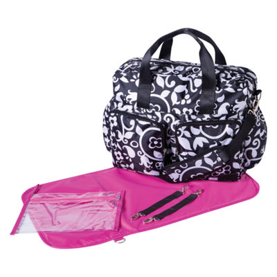 Trend Lab French Bull Vine Duffle Diaper Bag