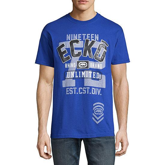 Ecko Unltd Mens Crew Neck Short Sleeve T-Shirt