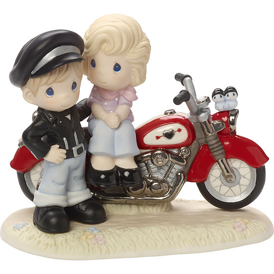 Precious Moments Youre My Road To Happinesslimited Edition Bisque Porcelain Sculpture 164001