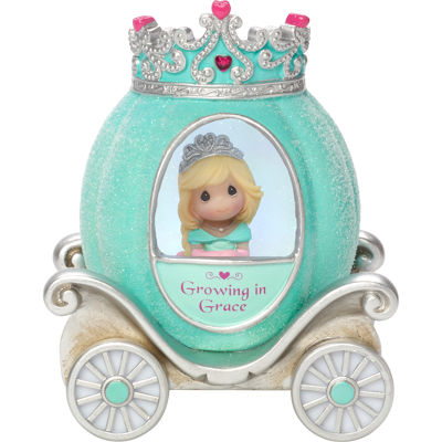 "Precious Moments  ""Grace Princess Carriage""  Resin/Vinyl Light-Up Figurine  #164401"