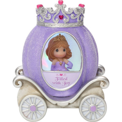"Precious Moments  ""Joy Princess Carriage""  Resin/Vinyl Light-Up Figurine  #164402"