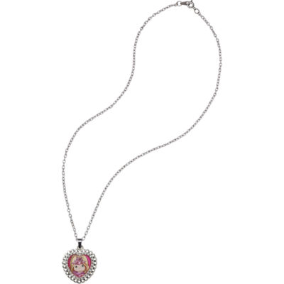 "Precious Moments  ""Sweet Charity""  Zinc AlloyPendant Necklace  #164409"