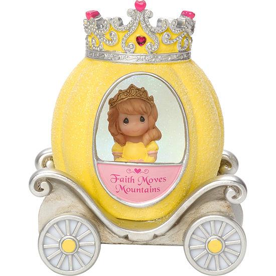 "Precious Moments  ""Faith Princess Carriage""  Resin/Vinyl Light-Up Figurine  #164403"