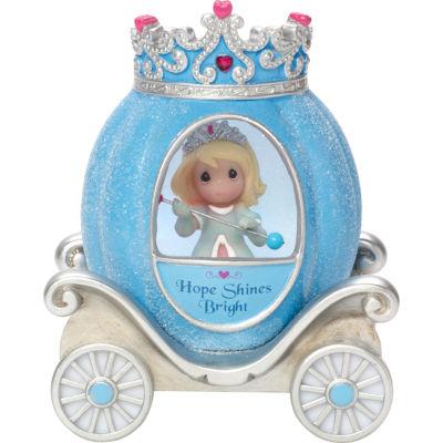 "Precious Moments  ""Hope Princess Carriage""  Resin/Vinyl Light-Up Figurine  #164405"