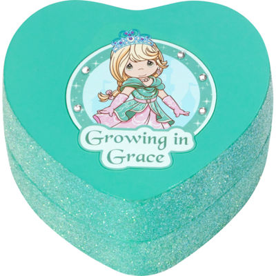 "Precious Moments  ""Growing In Grace""  Resin Trinket Box  #164424"
