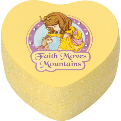 "Precious Moments  ""Faith Moves Mountains""  Resin Trinket Box  #164426"